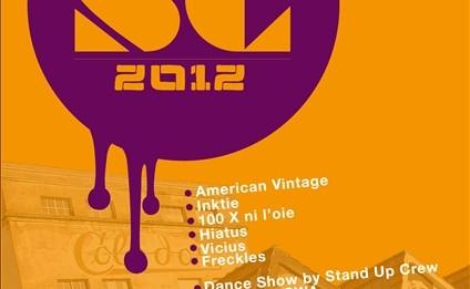 Affiche defile SC 2012