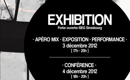 Exhibition iseg Flyer